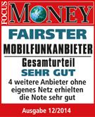 Ausgezeichnet von FOCUS-MONEY