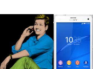 Allnet Flat L, z.B. mit dem Sony Xperia™ Z3