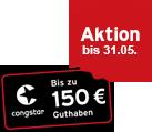 Bis zu 150 € Guthaben